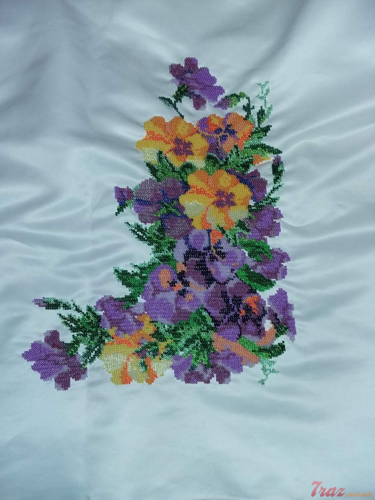 Вышивка бисер и нитки фото
